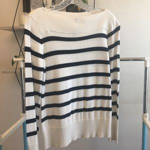 Chaps boatneck sweater - size medium